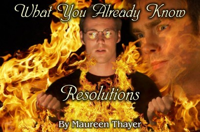 What You Already Know: Resolutions